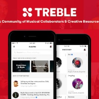 We talked to the founder of Treble.fm a new networking app for musicians and the music industry
